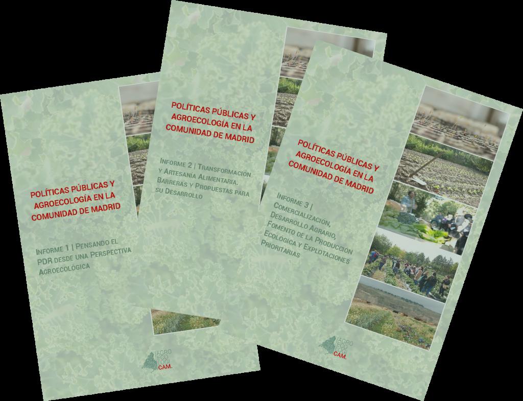 Informes sobre Políticas públicas y Agroecología en la Comunidad de Madrid
