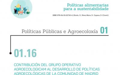 Publicación de los avances del Grupo Operativo AgroecologiCAM presentados en el VIII Congreso Internacional de Agroecología